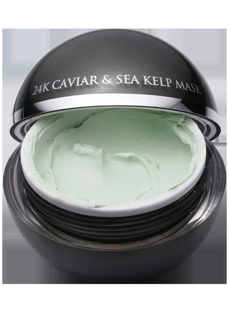 Caviar & Sea Kelp open lid